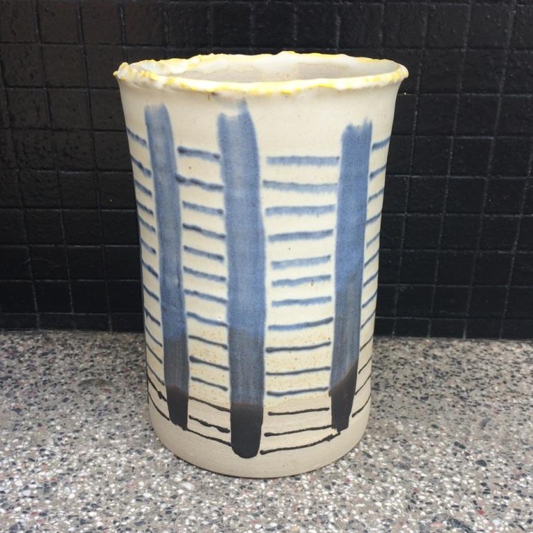 vase-ceramique-bianina-triba-gres-bleu-face
