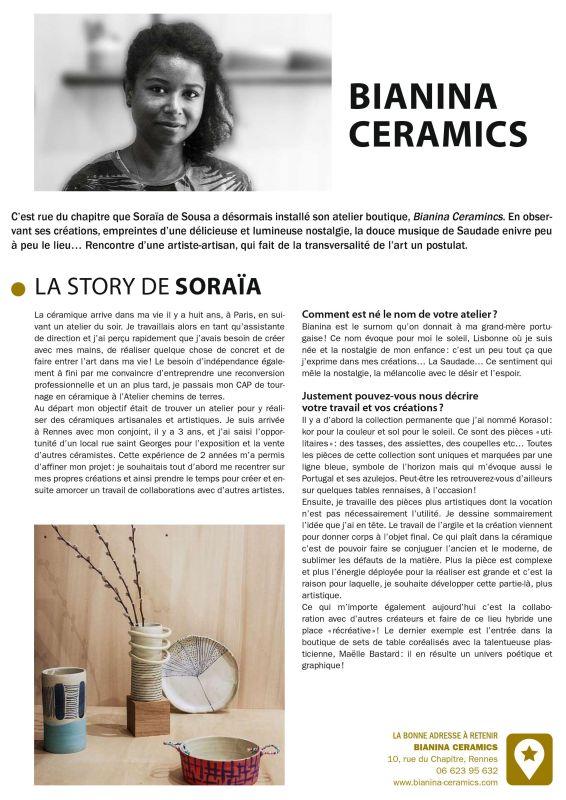 c8d4ef9a46 Parution dans le magazine « Portraits Rennes / Ouest France ...