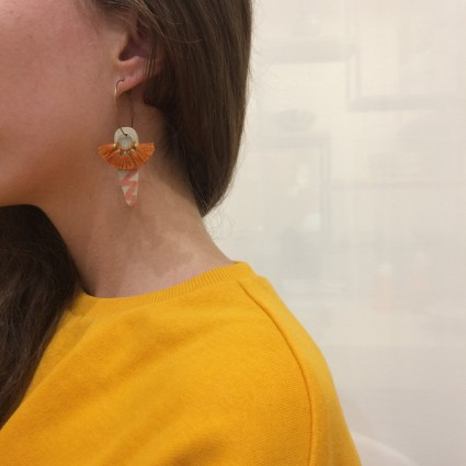boucles-oreilles-bellule-ceramique-orange-bianina