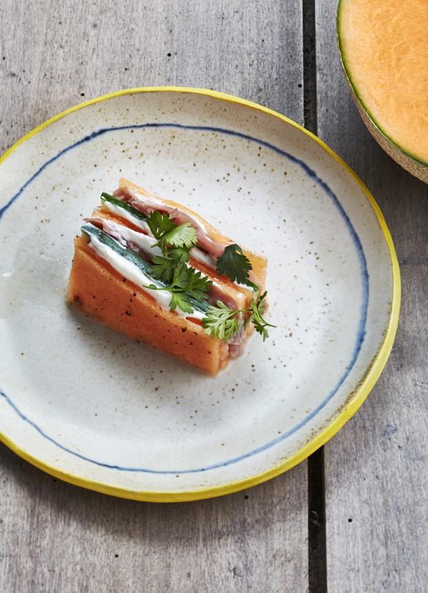 chef-beatrice-beatriz-gonzalez-assiettre-ceramique-bianina-rennes-melon-pickles